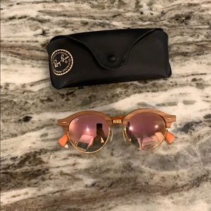 *AUTHENTIC* Ray ban mirrored sunglasses
